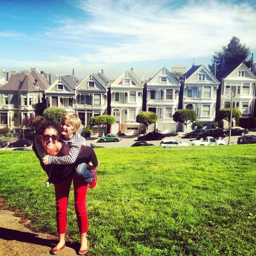 On a mission to find Uncle Jesse! #partnerincrime (Taken with Instagram at Danny Tanner's House)