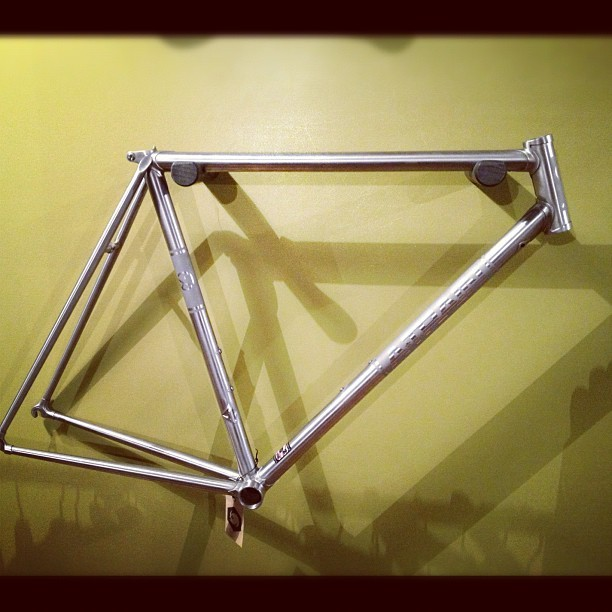 nice frame #bikes  (Taken with Instagram at Angry Catfish Bicycles and Coffee)