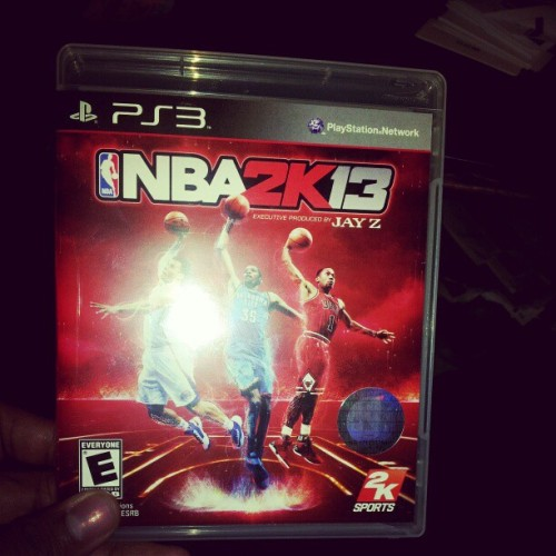 Gametime…. #Nba2k13 (Taken with Instagram)