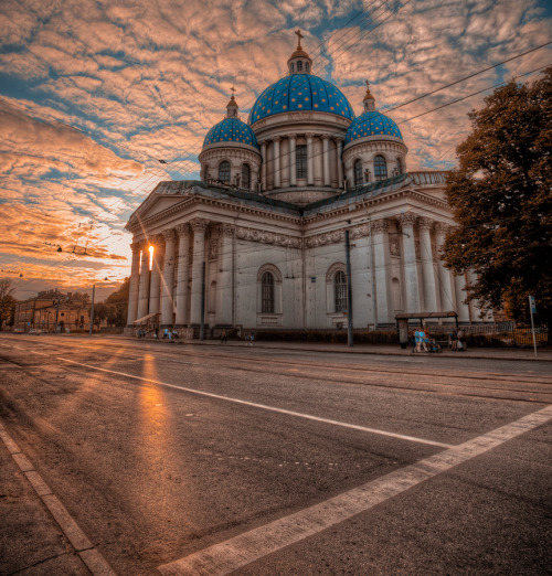 """Trinity Cathedral"" by Sergey Shaposhnikov"