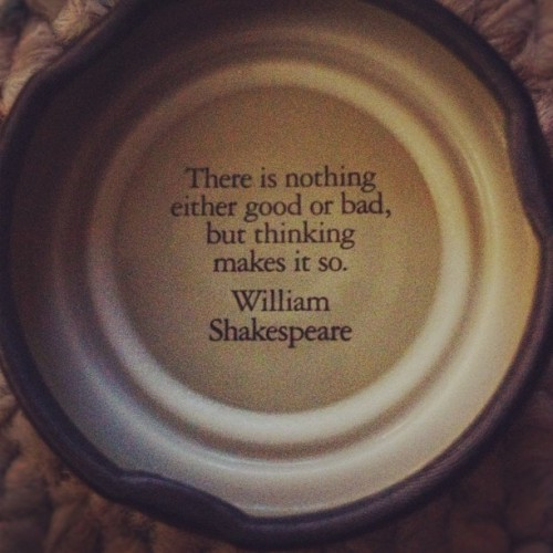Favorite Shakespeare quote 📓 (Taken with Instagram)