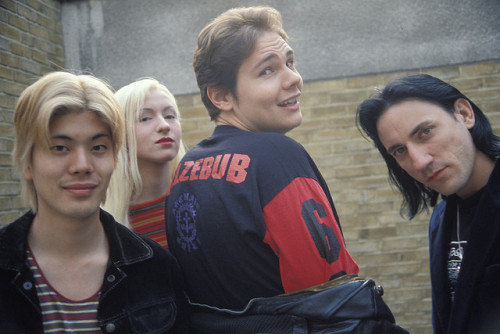 The world is a vampire… Smashing Pumpkins circa 1993 :: via  Mark Benney