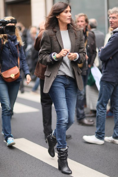 what-do-i-wear:  Paris Fashion Week streetstyle (image:  fashionologie)