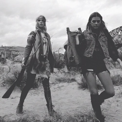#wasteland video @grrraciekins and @alexafix #desertswag 2112 A.D. (Taken with Instagram)