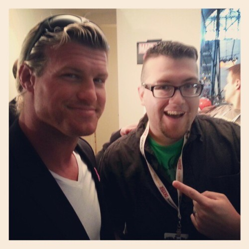 Me & @HeelZiggler at #NYCC. Rad! (Taken with Instagram)