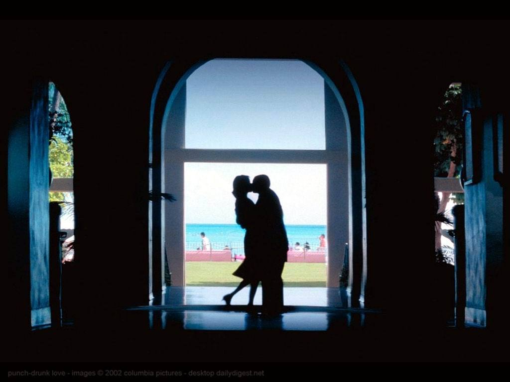 Adam Sandler and Emily Watson in Punch-Drunk Love