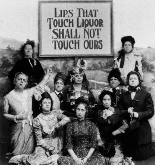 lostsplendor: Prohibition Coalition, Late 1900s (via Retronaut)  Your loss, ladies.  I'm Ryan Stevens.