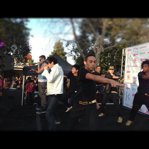 Chad Future #KCON  (Taken with Instagram at Verizon Wireless Amphitheatre)