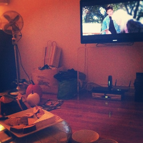 Pumpkins, snacks and Donnie Darko w/ @nwags and @celebron (Taken with Instagram)
