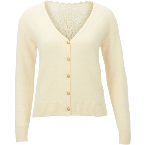 SELECTED cardigan   ❤ liked on Polyvore (see more knit cardigans)