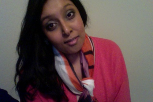 Fall is here! Let the scarves come out!! <3