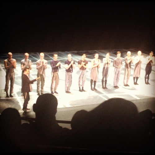Shen Wei #Dance #Arts after performing Rite of Spring at #fallfordance Shen Wei #choreographed the 2008 #Olympics in #Beijing (Taken with Instagram at New York City Center)
