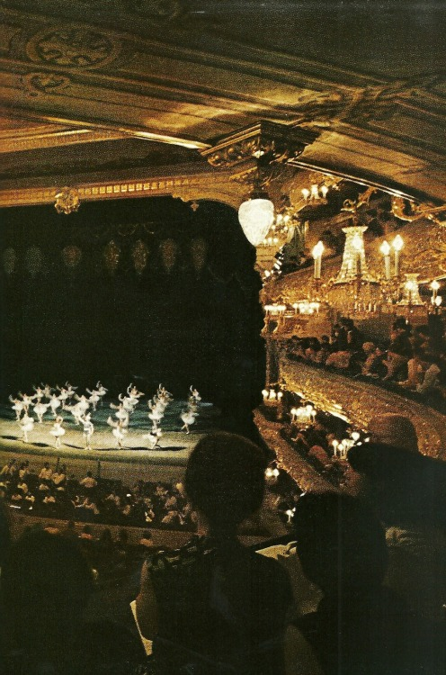 vintagenatgeographic:  Ballet theater in Russia National Geographic | May 1971
