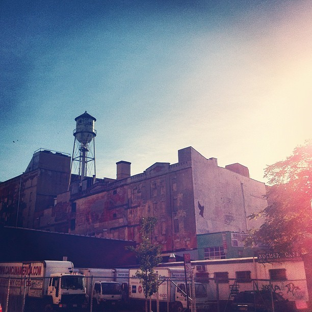 #Watertower in #brooklyn.  #nyc  (Taken with Instagram)