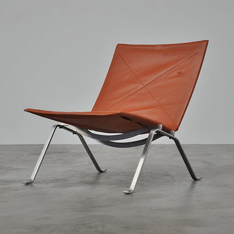 gregmelander:   PK22 CHAIR  Simple materials and a simple design can create beauty.   via iainclaridge.net