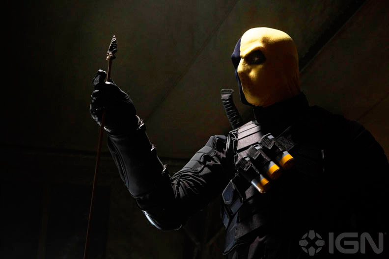 Deathstroke as he will appear on the WB's Arrow
