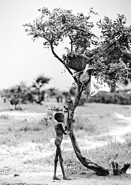"Sudan, Africa still in famine conditions.  ""Famine"" 2009 by Radhika Chalasani."