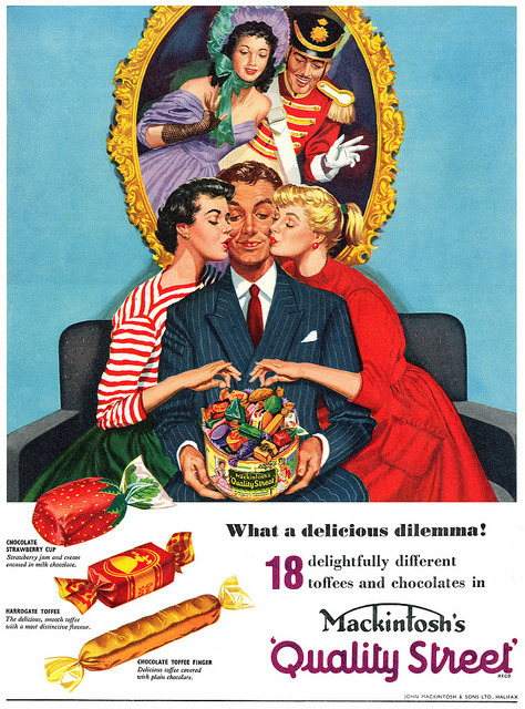 Quality Street advertisement. by totallymystified on Flickr.