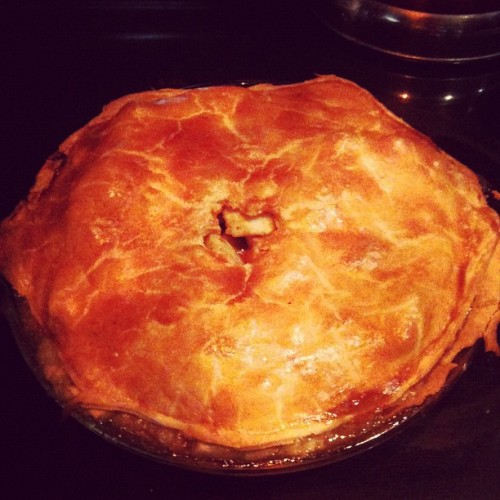 My very first apple pie! (Taken with Instagram)