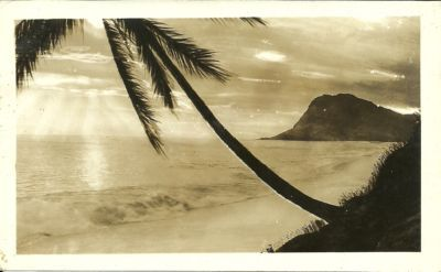 """ Scenic View — Hawaii ""  …  Circa 1920's"