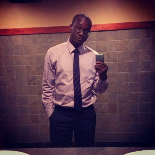 Oh yeah bathroom mirror shots lol… End of the night stop at Ruby Tuesday with thee woman (Taken with Instagram)