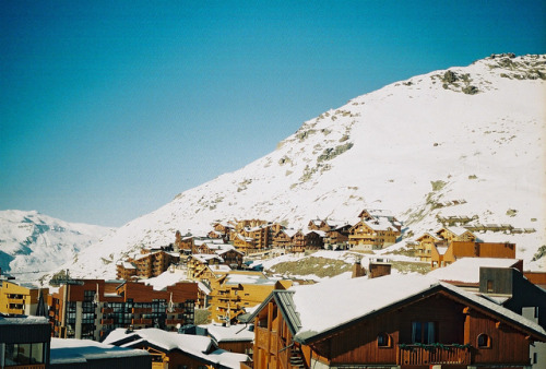 Val Thorens by Nina Parsy on Flickr.