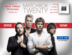 Matchbox Twenty Teams With Dean Markley for Facebook PromotionDean Markley announces giveaway with Matchbox Twenty to celebrate the release of their new CD…View Postshared via WordPress.com