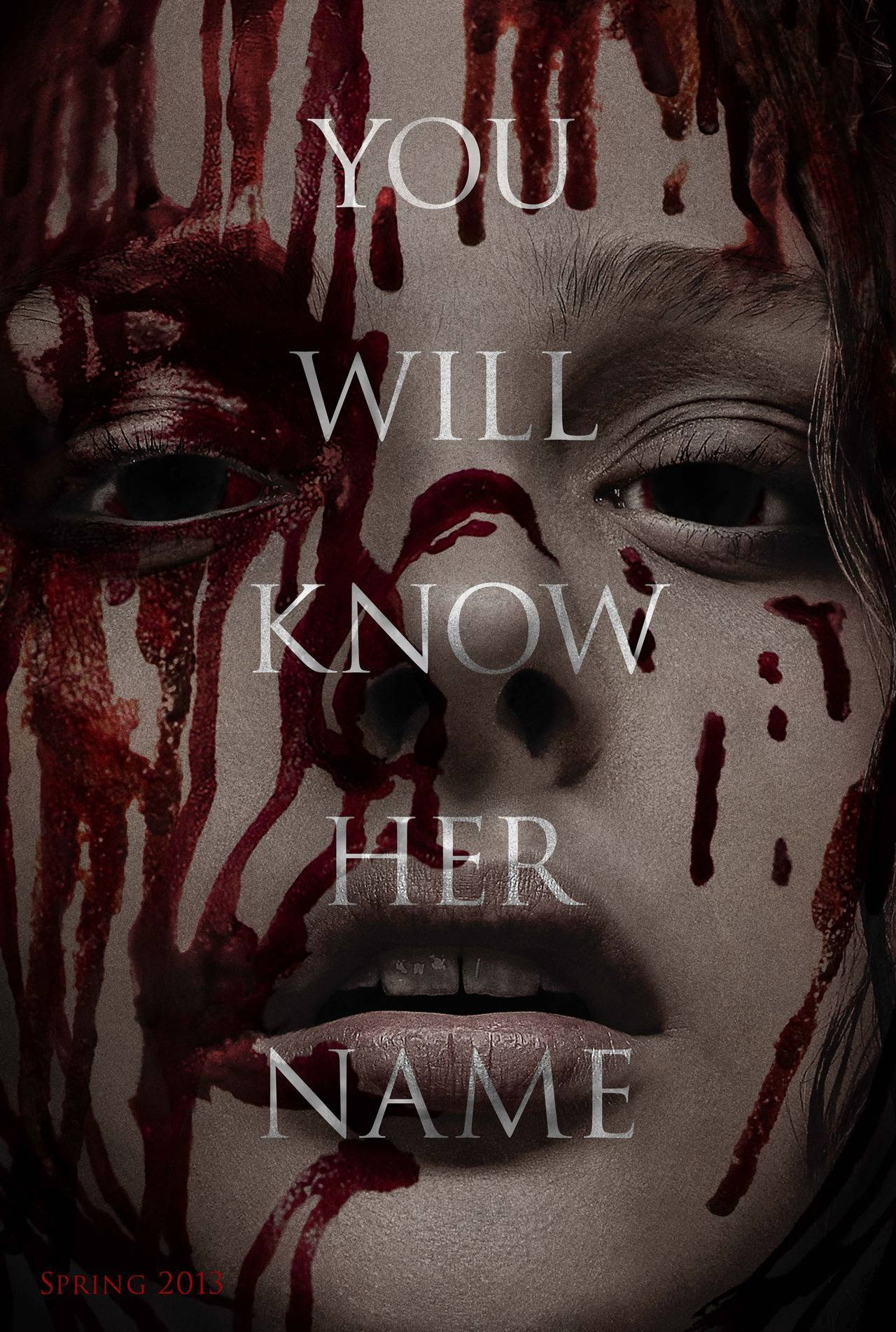 Teaser poster for Carrie remake starring Chloe Moretz