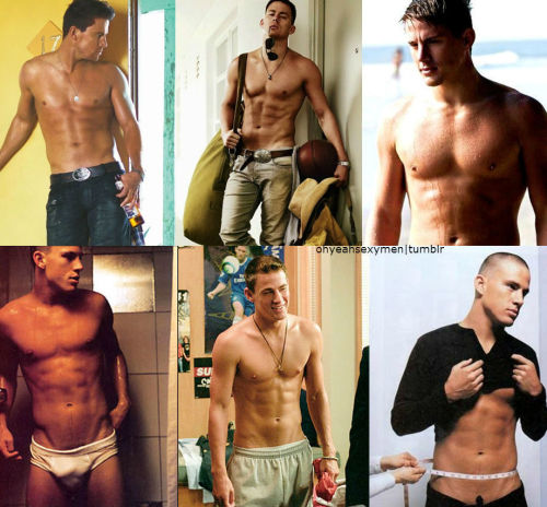 Channing Tatum Shirtless.
