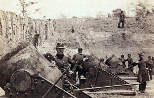 Union Artillery at Yorktown