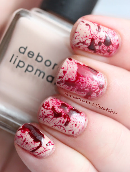 beautylish:  True Blood Mani!