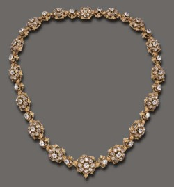 highvictoriana:  Diamond cluster necklace, c. 1880.  Need we say more ?