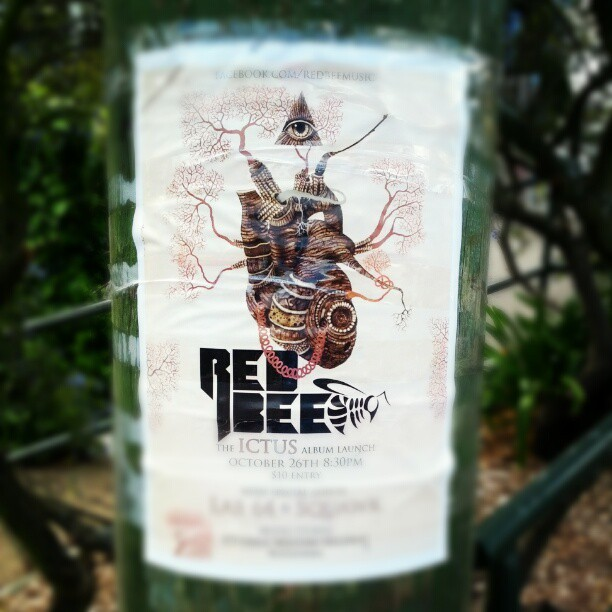 Cool gig poster #design  (Taken with Instagram)
