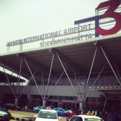 #jakarta #international #airport #soekarno #hatta #terminal3 (Taken with Instagram)