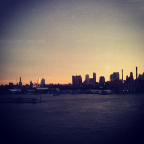 Leaving #Manhattan #nyc  (Taken with Instagram)