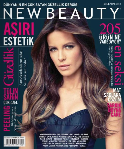 New Beauty Magazine Turkey (October 2012)
