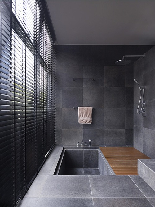 Your moment of Zen justthedesign:  Bathroom 25 Bukit Tunggal Road HYLA Architects