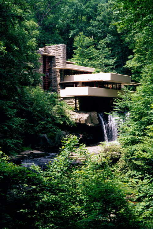 "mr-peekay:  frank lloyd wrights ""falling water""."