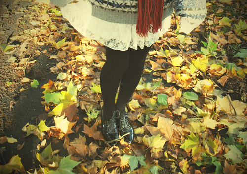 samantha-emma:  Black,Fair isle,Fashion,Grey,Oxfords,Scarf,White,