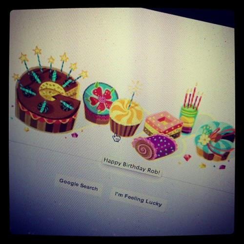 Got my own Google Doodle (Taken with Instagram)