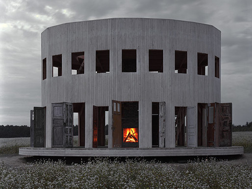 "n-architektur:  Alexander Brodsky's Rotunda (2009) in the Kaluga region of Russia In architecture, says Alexander Brodsky, ""you want on the one hand to build something that lasts for ever. But then you can have the problem of building something that disturbs you for the rest of your life. It's not good enough, but it stays."" White Room/Black Room: Alexander Brodsky – review"