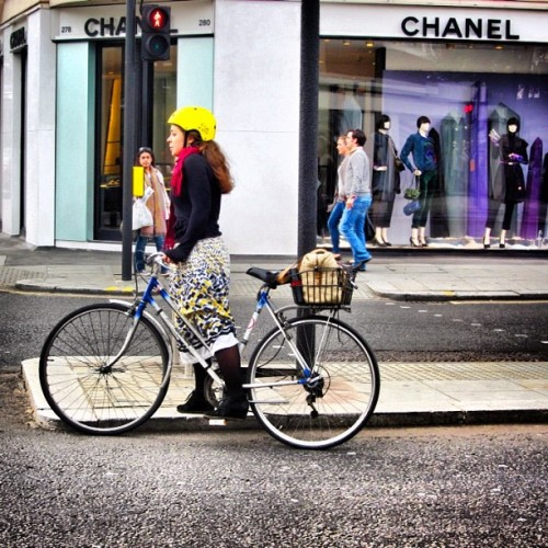 bicycle ride #london  (Taken with Instagram)