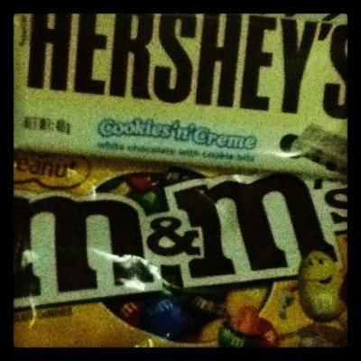 Hershey's® and M&M's®😊👍 (Taken with Instagram)