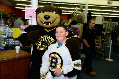 Stop by Pure Hockey in Medford through Sunday to purchase Bruins game-used equipment. Check out a photo gallery here.