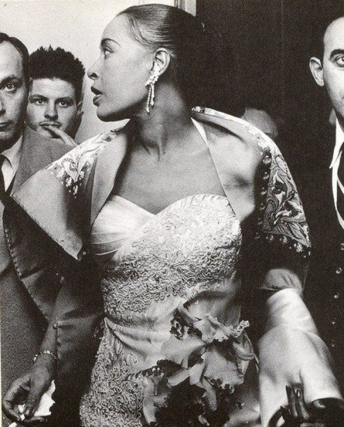 Billie Holiday, 1958.
