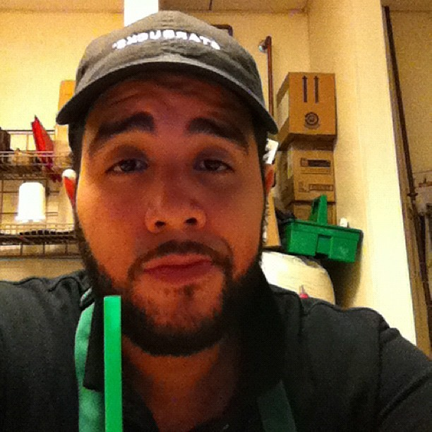 Can I just go back home? #starbucks #work #tired #sad (Taken with Instagram)