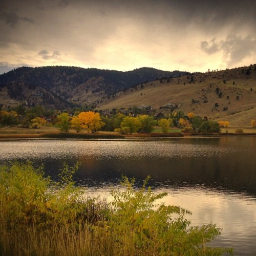 Boulder CO (Taken with Instagram at Wonderland Lake Park)