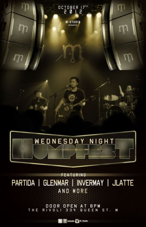 MINERVA STUDIO Presents WEDNESDAY NIGHT HUMPFEST Featuring Partida Glenmar Invermay Jlatte and more!