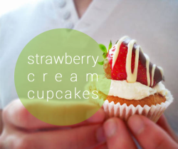 Strawberry cream cupcakes / Decoration can be customised / €3 per cupcake / 12 order minimum Strawberry cream cakes are essentially a miniature version of the classic Victoria Sponge (named after Queen Victoria, it was rumoured to be her favourite cake). My Grandma used to make a Victoria sponge each time we visited as kids during the school holidays, and I always looked forward to it (well, the sponge cake, and the way she would cook us bacon and eggs in the morning by frying them in real animal fat, now those were the good old days!). I found myself making these cakes quite often after I moved to Europe. Starved for any culinary joy during university in The Netherlands, myself and other international students, usually the Mediterranean Greeks and Italians, used to hold international pot luck dinners in order to kickstart our tastebuds. I did however always had a bit of a problem with what to take as there is arguably not anything completely New Zealand in terms of food (I only had a tiny dual microwave/convection oven so the COMPLETELY (aussies take note) Kiwi dessert Pavlova was not an option). Luckily, I found that combining cream with strawberrys was pretty different for the people from Greece, Italy, Thailand etc, so I borrowed from our Motherland in this respect. Long live The Commonwealth.  Recipe Cake base: 125 grams butter at room temperature 1/2 cup caster sugar 2 eggs 2 tsp baking powder 1 cup all purpose flour 1/4 cup of milk 1/2 tsp vanilla essence Cream the butter in a bowl with an electric beater until light, then beat in the caster sugar until the grains are no longer visible. Beat the eggs slightly then add gradually to the butter and sugar, mixing constantly. Sift in the flour and baking powder into the butter mixture and fold in gently. After, add the milk and vanilla essence and fold to combine. Pour the mixture into buttered and floured muffin forms with cupcake papers in, and cook at 180 deg Celsius for around 15 minutes, or until springy to the touch. Icing: 12 strawberrys, washed but greenery left on. 250grams good quality milk chocolate 250 gram white chocolate 1/2 cup desiccated coconut Melt the 2 chocolates separately, either using a saucepan of boiling water with another bowl fitted in with the chocolate in it, or if you are feeling lazy in the microwave Dip half of each strawberry into the milk chocolate. Half of these then dip into the coconut, the other half use the white chocolate to drizzle over the white chocolate. Leave on a flat tray covered with baking paper in the fridge to set. 250ml cream 1/2 tsp vanilla essence 2 tblsp icing sugar 12 teaspoons strawberry jam Whip together the first 3 ingredients to create your whipped cream. After the cupcakes have cooled, using a small sharp knife (I used an ordinary steak knife, I think the cerated edge helps a lot), to cut small holes into the top of each cupcake, leave around 1 cm of space around the edge. The whole should go approximately half way into the cupcake. (See photo) Place a teaspoon of jam in the bottom of each crevice, then pipe the whipped cream on top to achieve a nice cupcaky peak. Finally, place one of the chocolate coated strawberrys on top of each cream peak et voila, c'est fini! Delicieux!