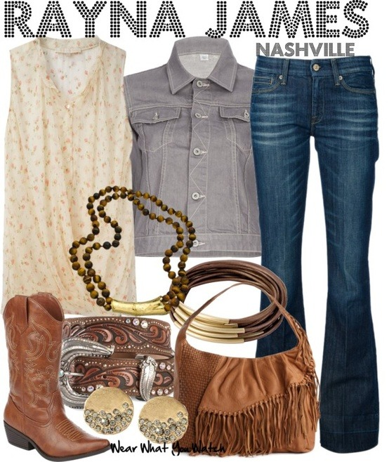"Connie Britton as Rayna James on ""Nashville"" - Shopping info!"
